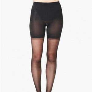 SPANX Tights High-Waisted Haute Contour Black NEW